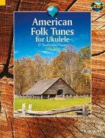 【輸入楽譜】ウクレレのためのアメリカ民謡集/Tribe編曲 & 編(CD & TAB譜付)