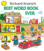 【24位】RICHARD SCARRY'S BEST WORD BOOK EVER(H)