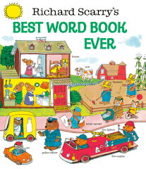 RICHARD SCARRY'S BEST WORD BOOK EVER(H)