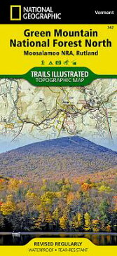 Green Mountain National Forest North [moosalamoo National Recreation Area, Rutland] MAP-TRAILS ILLUS #747 GREEN MO (National Geographic Maps: Trails Illustrated) [ National Geographic Maps - Trails Illust ]