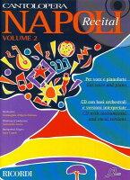 【輸入楽譜】カントロペラ: ナポリ民謡集 第2巻: 伴奏CD付