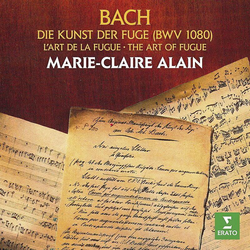 【輸入盤】フーガの技法 マリー=クレール・アラン(オルガン)(2CD)画像