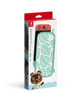 Nintendo Switch キャリングケース あつまれ どうぶつの森エディション 〜たぬきアロハ柄〜 (画面保護シート付き)