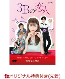 【楽天ブックス限定先着特典】3Bの恋人 DVD-BOX(A5ビジュアルシート)