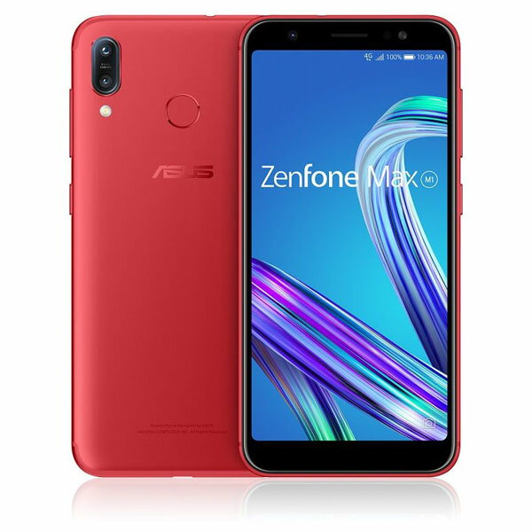 Zenfone Max M1 Series ルビーレッド ZB555KL-RD32S3