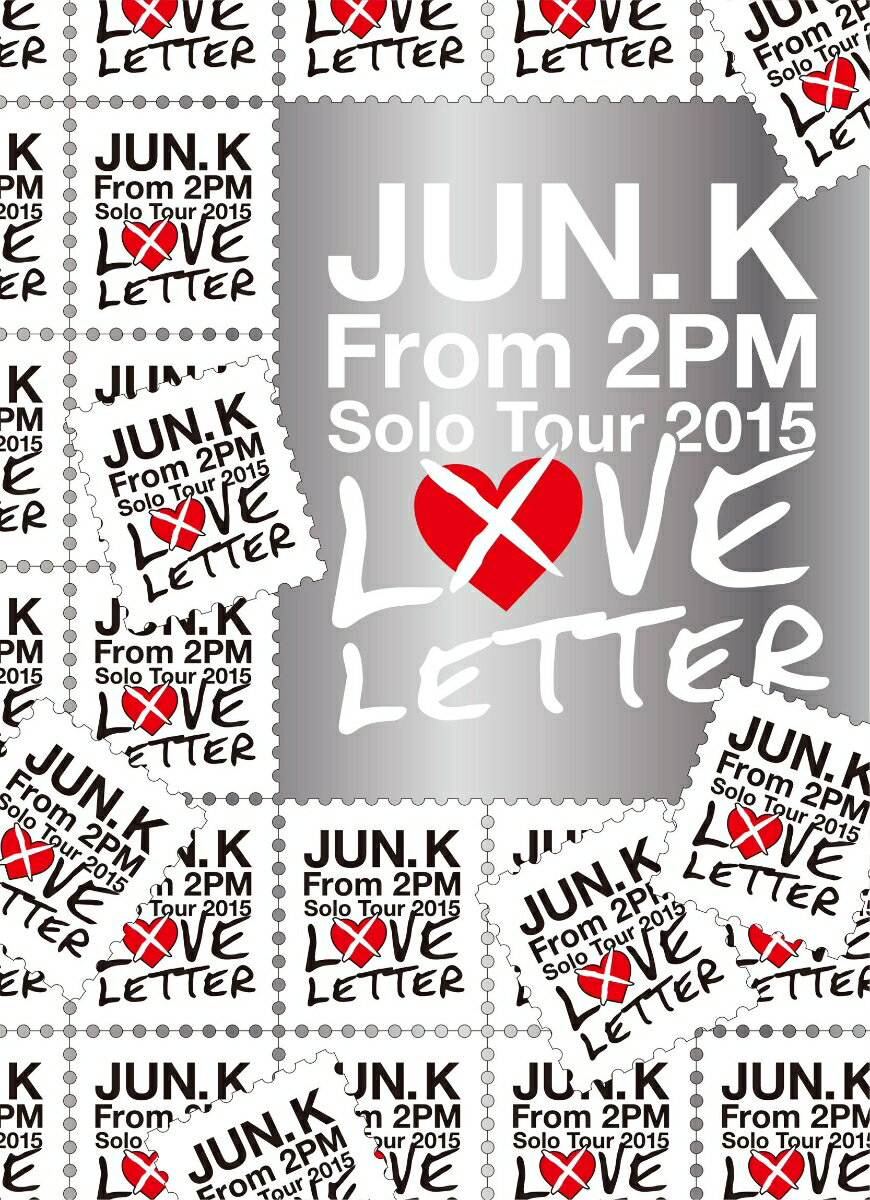 """Jun. K (From 2PM) Solo Tour 2015 """"LOVE LETTER"""