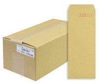 マルアイ 封筒 長形40号 クラフト封筒 テープ付 250枚 85g A4四つ折対応 E301351