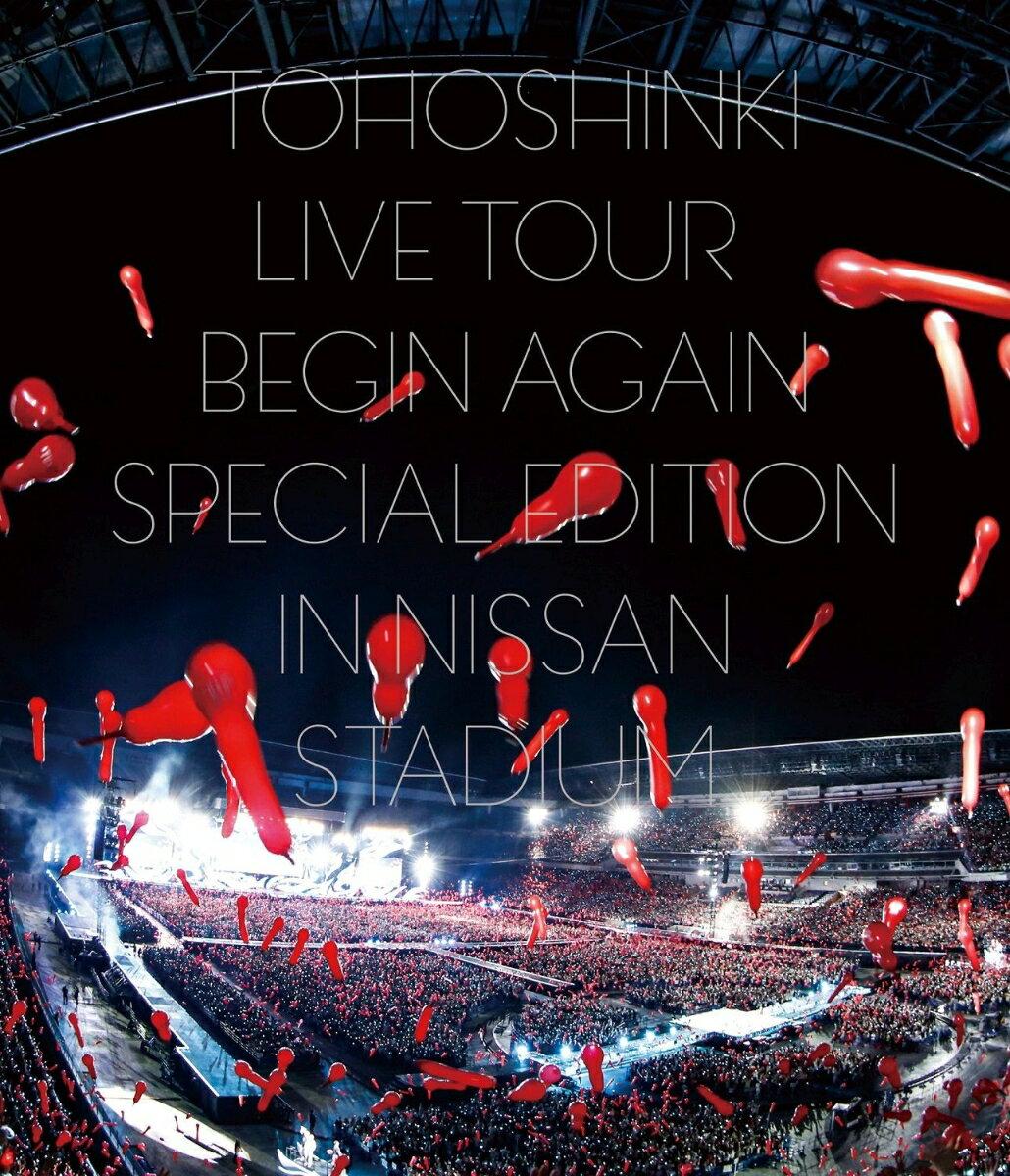 東方神起 LIVE TOUR ~Begin Again~ Special Edition in NISSAN STADIUM(Blu-ray Disc2枚組 スマプラ対応)【Blu-ray】