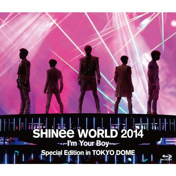 ミュージック, その他 SHINee WORLD 2014Im Your Boy Special Edition in TOKYO DOMEBlu-ray SHINee