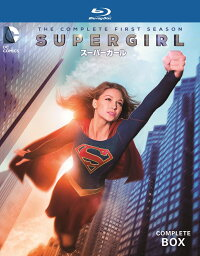 SUPERGIRL/スーパーガール<ファースト・シーズン>コンプリート・ボックス(4枚組)【Blu-ray】