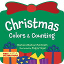 Christmas Colors & Counting CHRISTMAS COLORS & COUNT-BOARD (First Celebrations) [ Barbara Barbieri McGrath ]