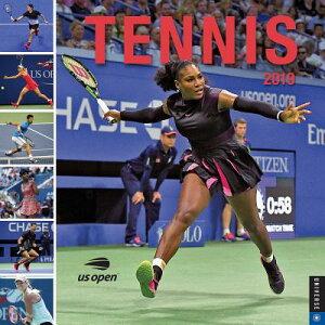 Tennis 2019 Wall Calendar: The Official U.S. Open Calendar CAL 2019-TENNIS WALL CAL [ United States Tennis Association ]