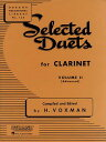 Selected Duets for Clarinet: Volume 2 - Advanced SEL DUETS FOR CLARINET [ H. Voxman ]
