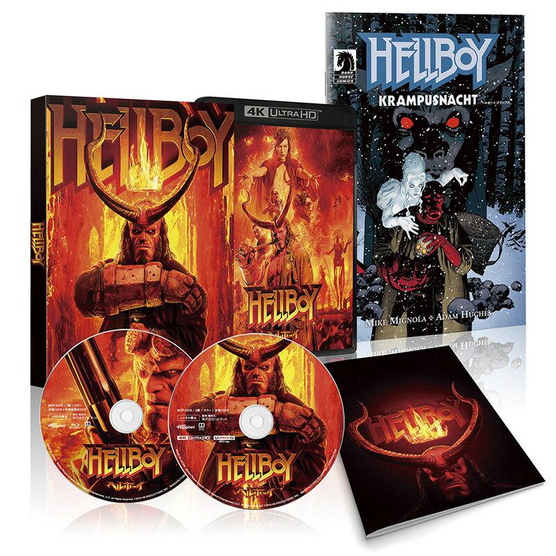 ヘルボーイ 4K ULTRA HD + Blu-ray【4K ULTRA HD】