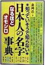 日本人の名字なるほど・オモシロ事典