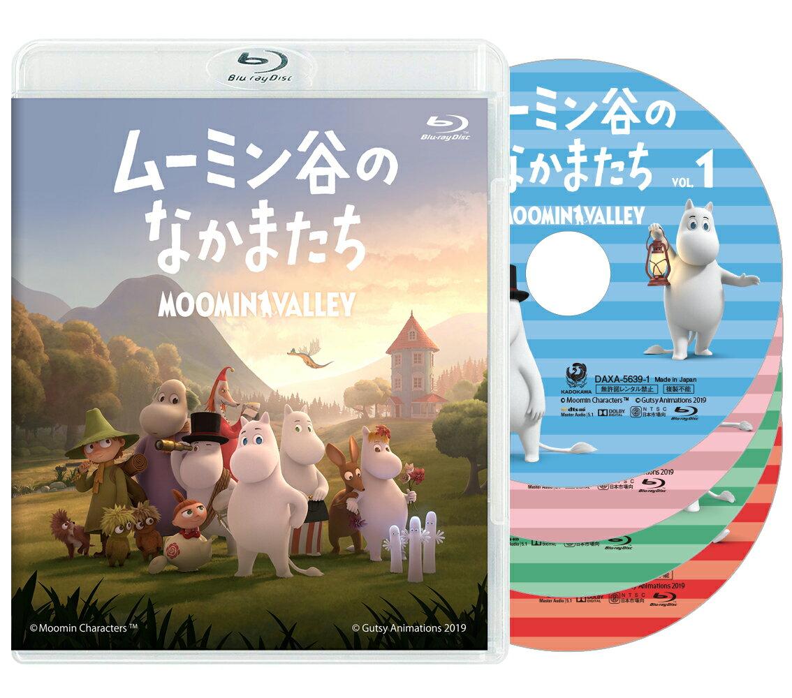 ムーミン谷のなかまたち 通常版Blu-ray-BOX【Blu-ray】画像