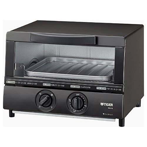 タイガー オーブントースター やきたて ブラウン KAJ-G100T