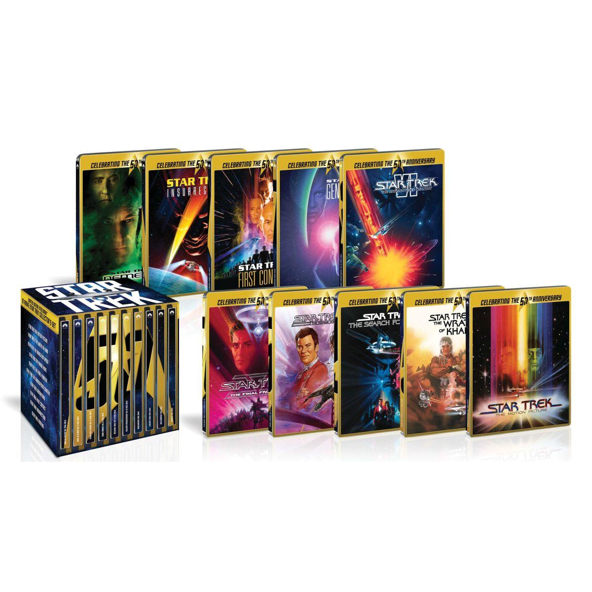 【法人限定販売】スター・トレック I-X 劇場版ブルーレイ50周年記念BOX スチールブック仕様【Blu-ray】