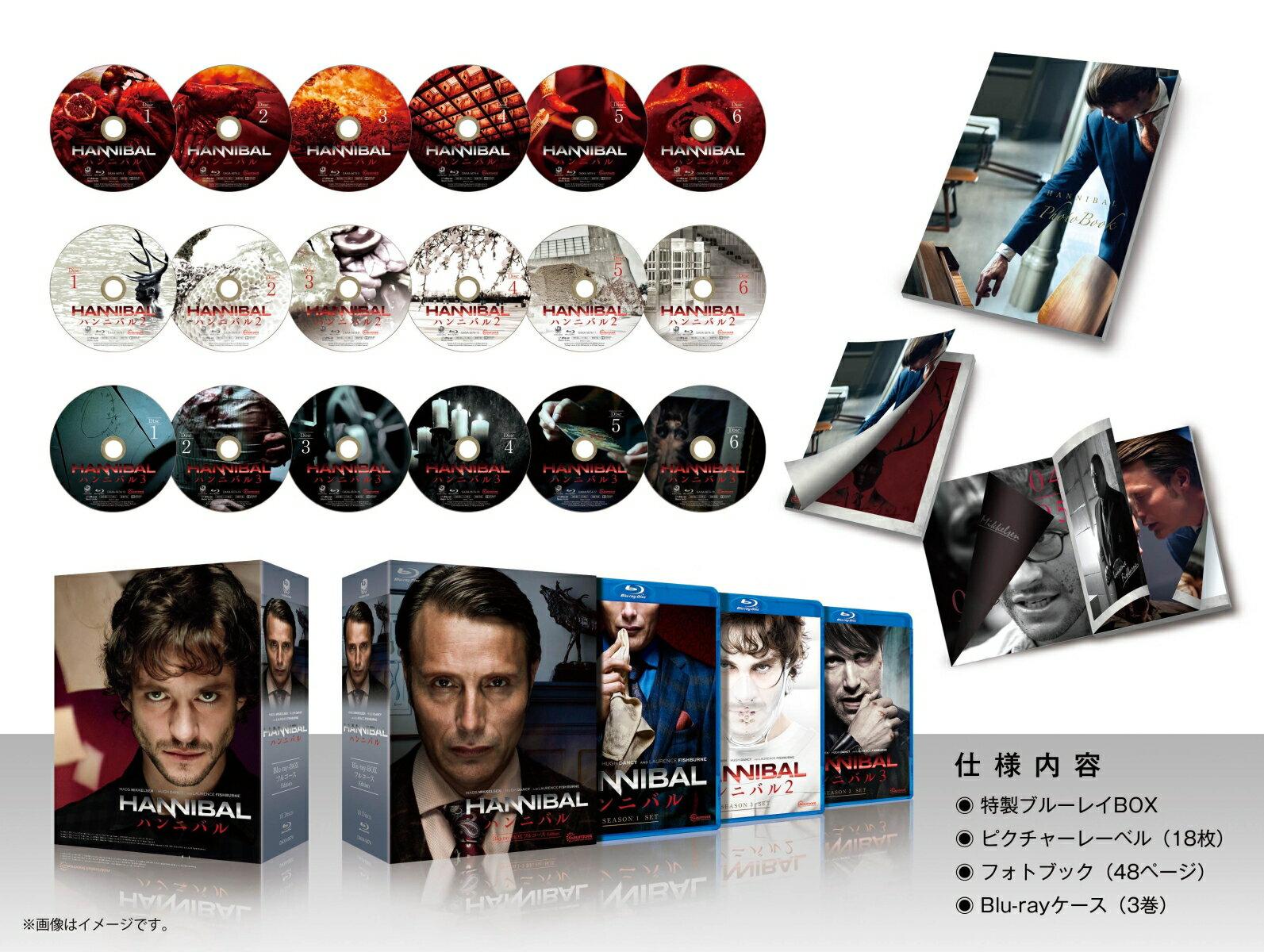 HANNIBAL/ハンニバル Blu-ray-BOX フルコース Edition【Blu-ray】
