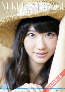 【送料無料】壁掛 AKB48-05柏木由紀 2013 カレンダー