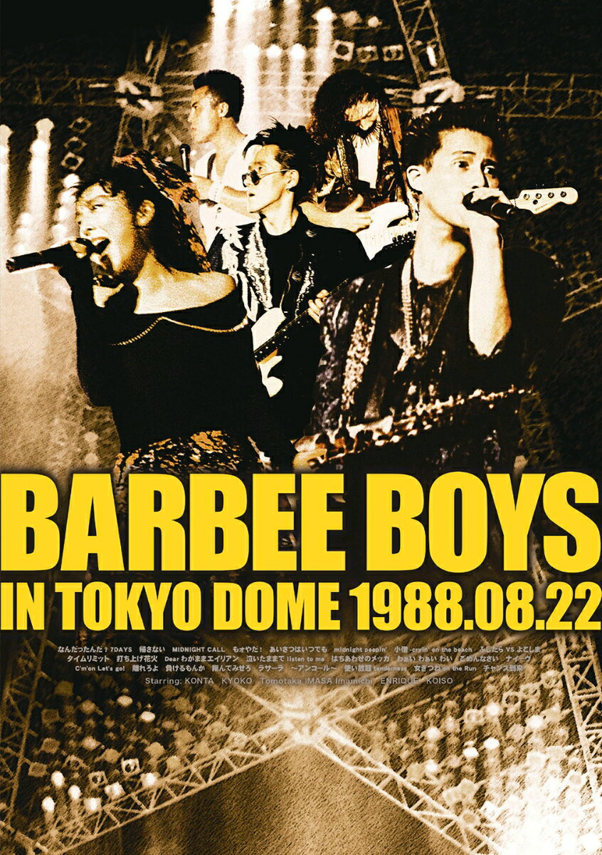 BARBEE BOYS IN TOKYO DOME 1988.08.22画像