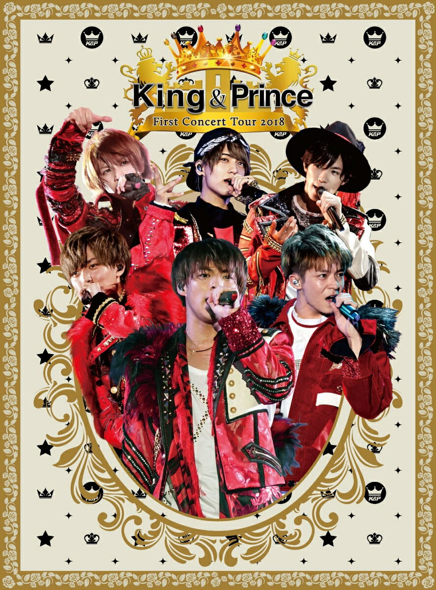 King & Prince First Concert Tour 2018(初回限定盤)【Blu-ray】