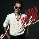 EXILE ATSUSHI(エグザイル アツシ)の「Real Valentine」を収録したアルバム「MUSIC」のジャケット写真。