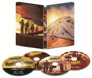 【タイムセール】ハン・ソロ/スター・ウォーズ・ストーリー 4K UHD MovieNEX スチールブック(数量限定)【4K ULTRA HD】