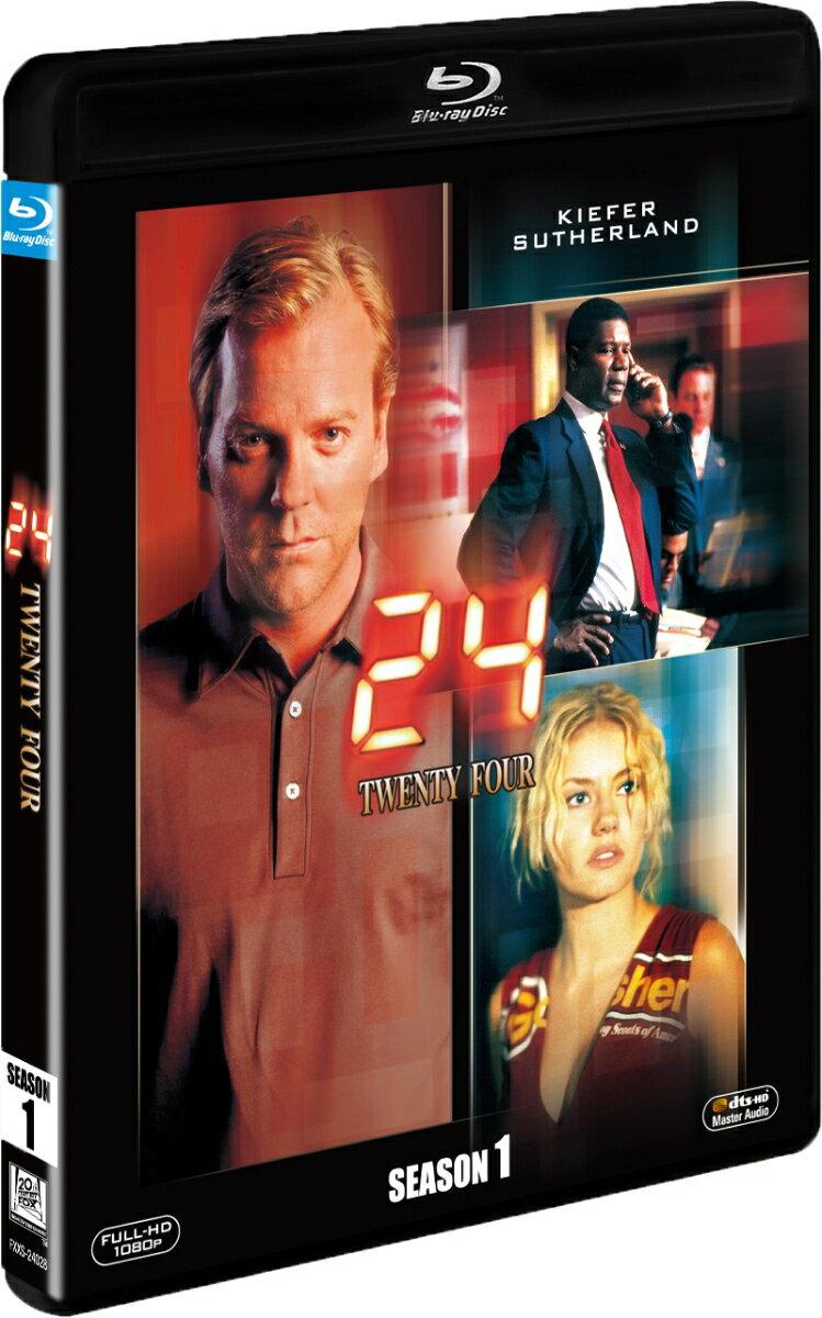24-TWENTY FOUR- シーズン1<SEASONS ブルーレイ・ボックス>【Blu-ray】