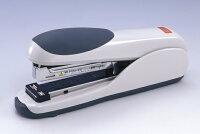 マックス ホッチキス 卓上ホッチキス フラットクリンチ 最大30枚とじ グレー HD-35DF