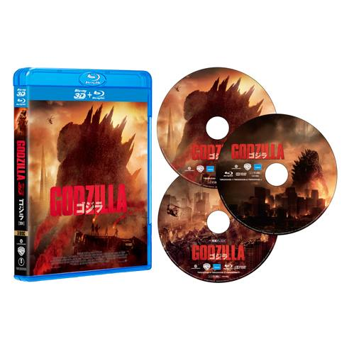 GODZILLA ゴジラ[2014] 3D&2DBlu-ray3枚組【3D Blu-ray】画像