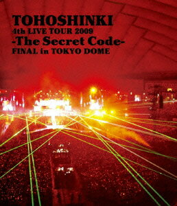 東方神起 4th LIVE TOUR 2009 -The Secret Code- FINAL in TOKYO DOME【Blu-ray】 [ 東方神起 ]