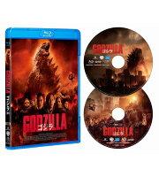 GODZILLA ゴジラ[2014] Blu-ray2枚組【Blu-ray】