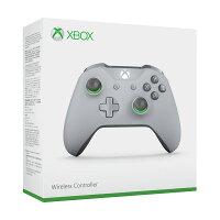 Xbox ワイヤレス コントローラー (グレー / グリーン)の画像