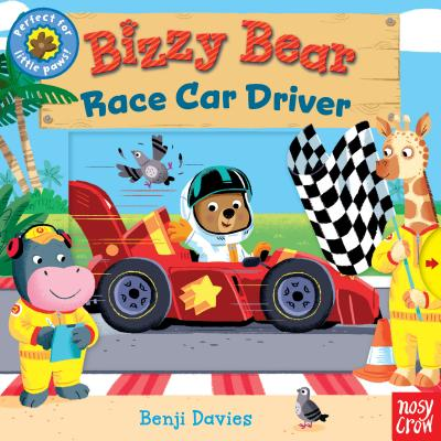 洋書, BOOKS FOR KIDS Bizzy Bear: Race Car Driver BIZZY BEAR RACE CAR DRIVER Bizzy Bear Nosy Crow