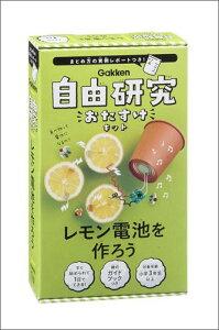 レモン電池を作ろう