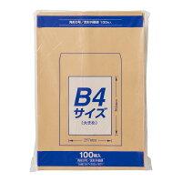 マルアイ 封筒 クラフト封筒 角形0号 B4対応 85g 100枚 PK-Z108