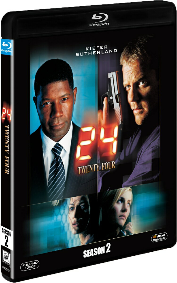 24-TWENTY FOUR- シーズン2<SEASONS ブルーレイ・ボックス>【Blu-ray】