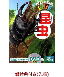 【数量限定特典付き】昆虫 (学研の図鑑LIVE)