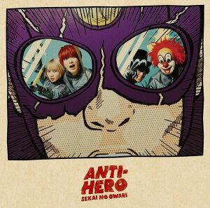 ANTI-HERO(アンタイヒーロー) (初回限定盤B CD+DVD)