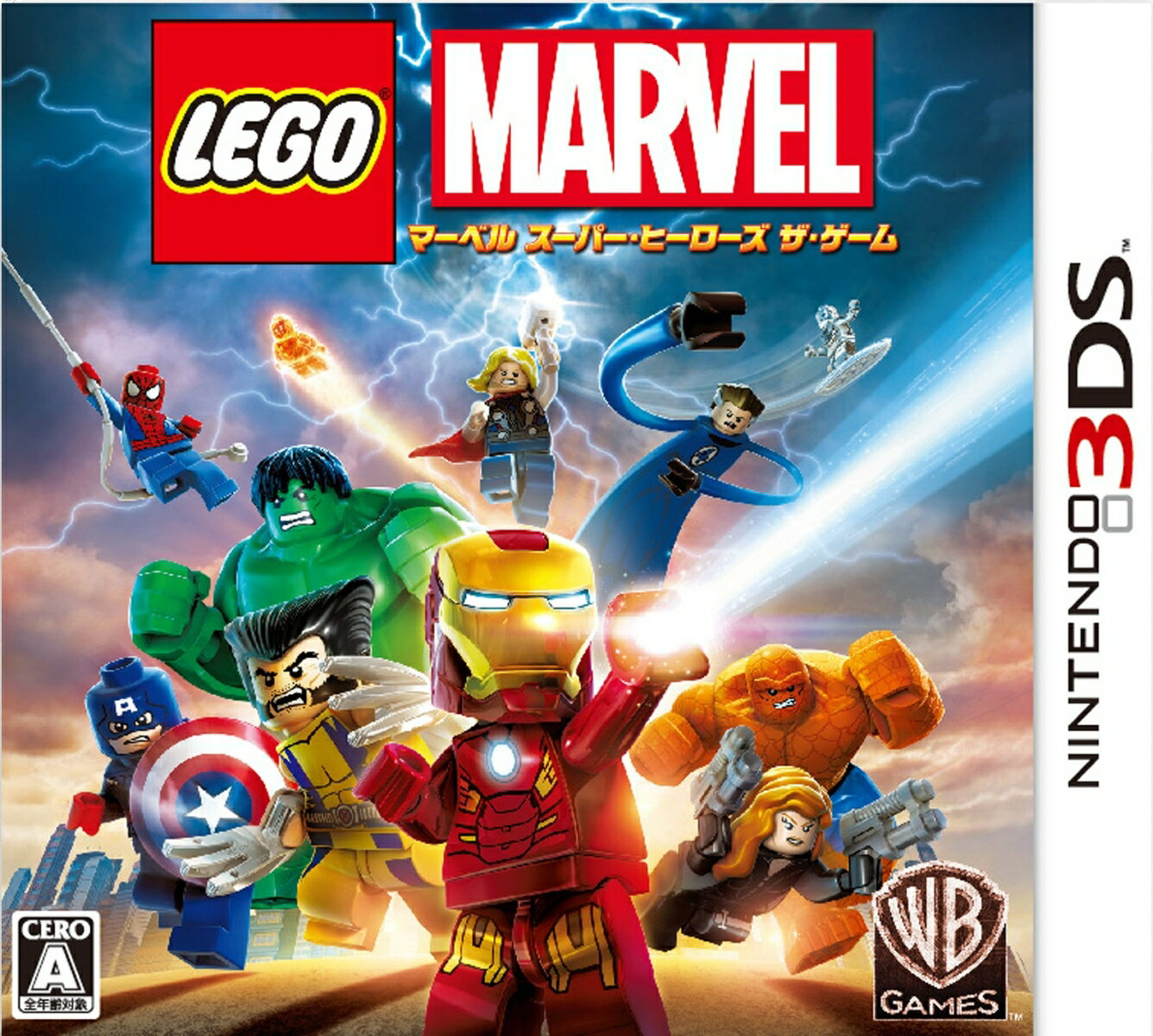 Nintendo 3DS・2DS, ソフト LEGO 3DS