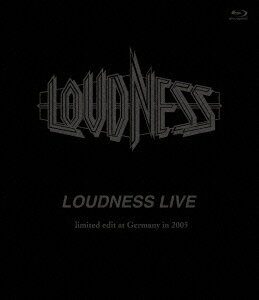 LOUDNESS LIVE limited edit at Germany in 2005【Blu-ray】画像