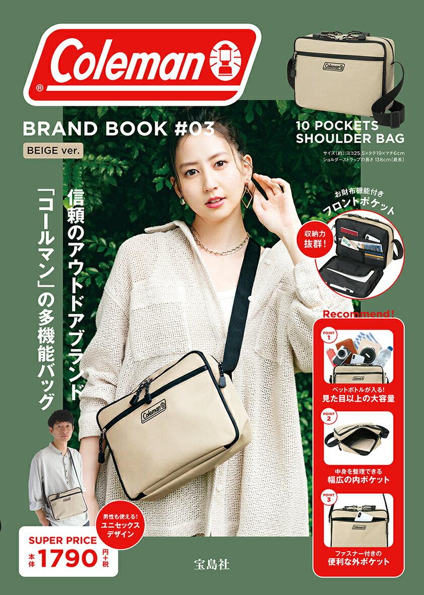 ファッション・美容, ファッション Coleman BRAND BOOK 03 BEIGE ver.