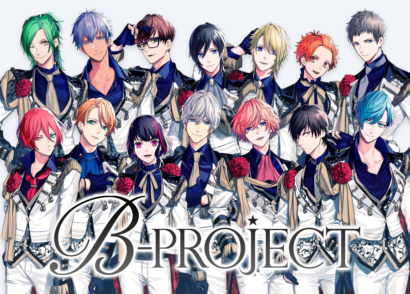 CD, アニメ B with U (ver.CD)((ver.)) B-PROJECT