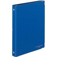 コクヨ バインダー ノート カラーパレット A5 20穴 最大100枚 青 ルー105-3Z