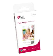 【送料無料】LG Electronics Japan ポケットフォト(Pocket Photo)専用用紙 ZINKフォトペーパー ...