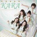 カラオケで人気のK-pop・韓国アイドル曲 「KARA」の「ジェットコースターラブ」を収録したCDのジャケット写真。