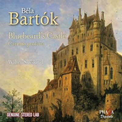 【輸入盤】Duke Bluebeard's Castle: Susskind / London New So Hellwigh Koreh +cantata Profana画像