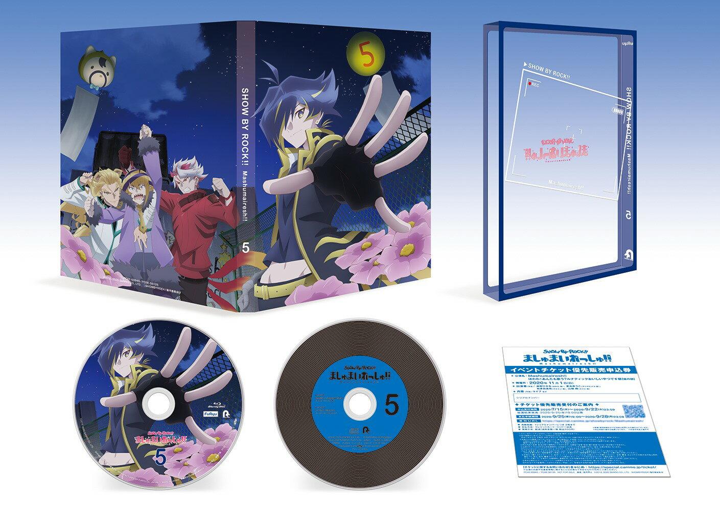 TVアニメ「SHOW BY ROCK!!ましゅまいれっしゅ!!」Blu-ray 第5巻【Blu-ray】画像