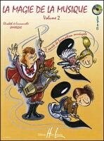 【輸入楽譜】ラマルケ, Elisabeth & グーダール, Mrie-Jose: 音楽の魔法 第2巻